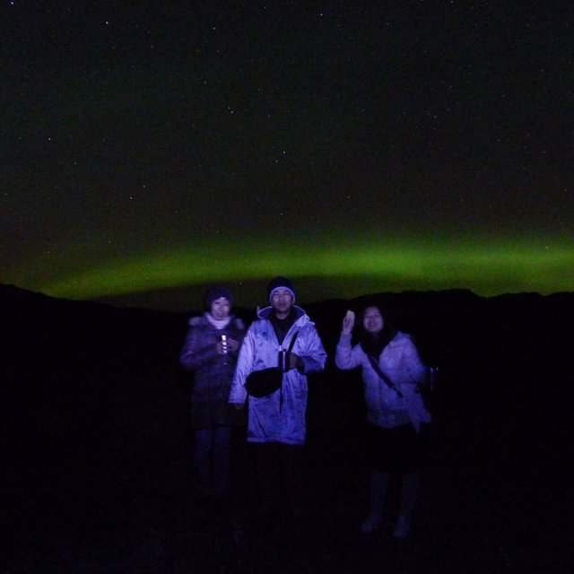 Arctic Day: Aurora Viewing | evening (Sept 16, 2012)