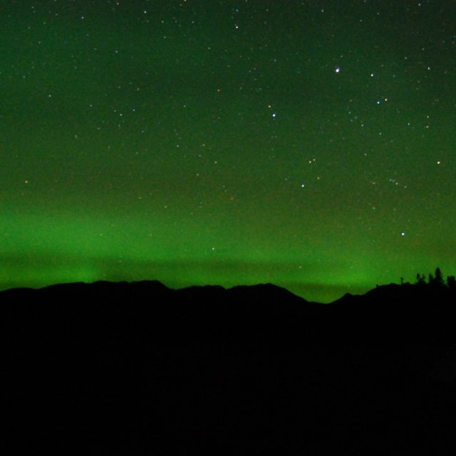 Arctic Day: Aurora Viewing | evening (Sept 17, 2012)