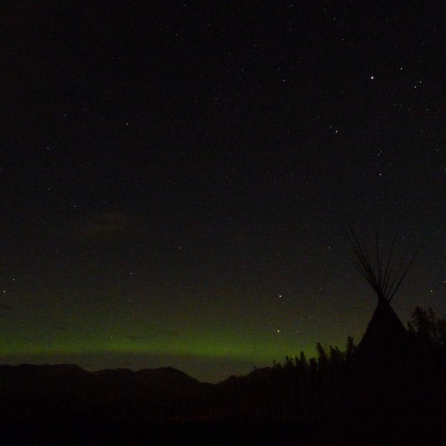 Arctic Day: Aurora Viewing | evening (Sept 24, 2012)