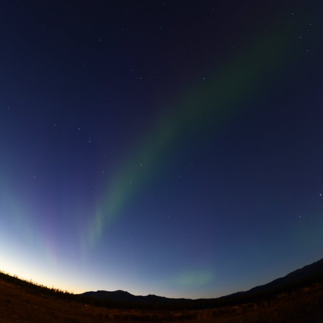 Arctic Day: Aurora Viewing | evening (Sept 30, 2012)
