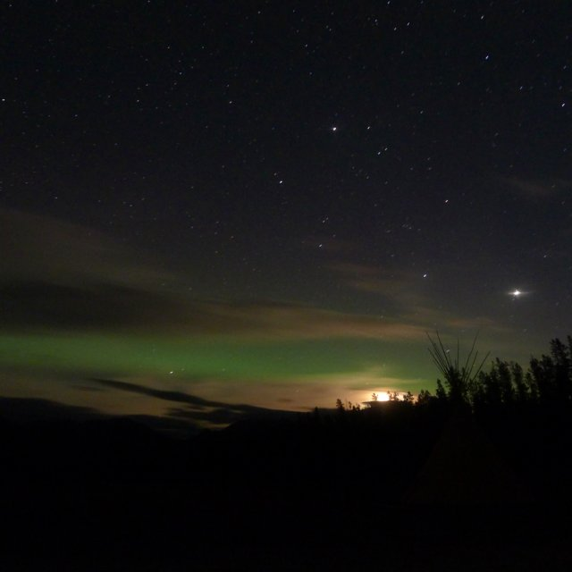 Arctic Day: Aurora Viewing | evening (Oct 06, 2012)