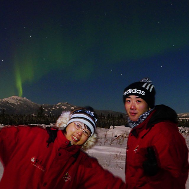 Arctic Day: Aurora Viewing | evening (Nov 25, 2012)