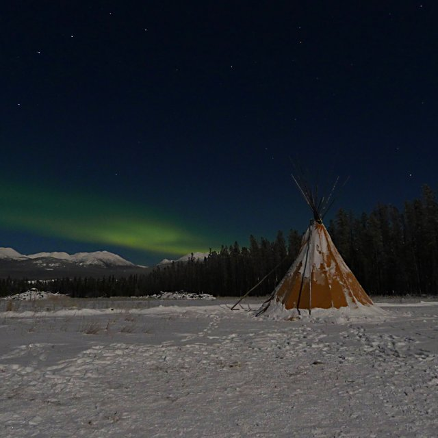 Arctic Day: Aurora Viewing | evening (Nov 26, 2012)