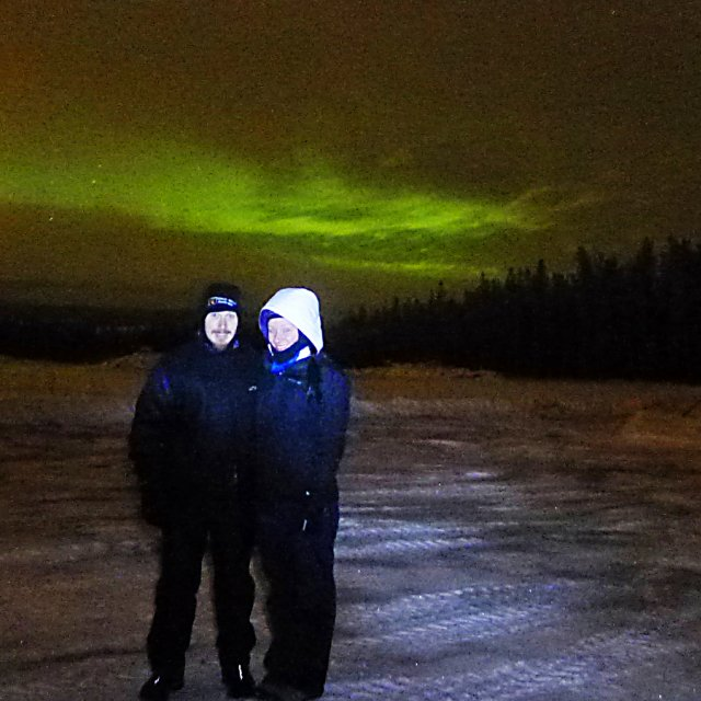 Arctic Day: Aurora Viewing | evening (Dec 10, 2012)