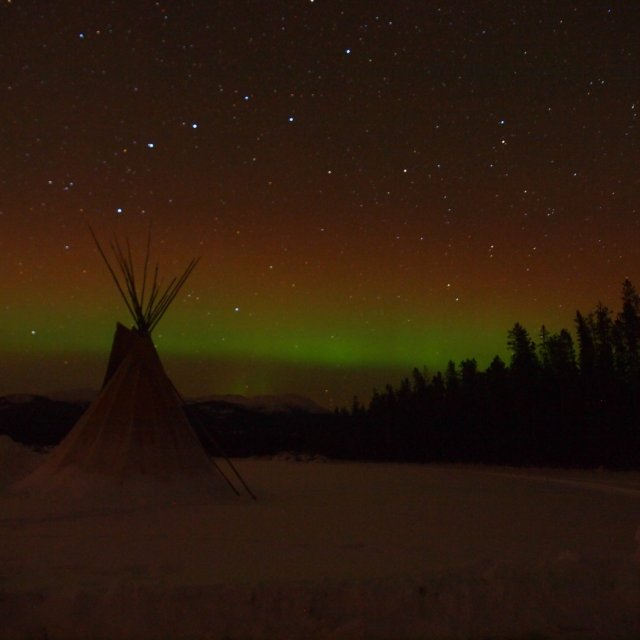 Arctic Day: Aurora Viewing | evening (Dec 19, 2011)